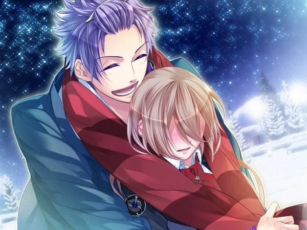 Tags: Anime, Starry☆Sky~, Yahisa Tsukiko, Amaha Tsubasa, CG Art, Starry☆Sky ~in Winter~