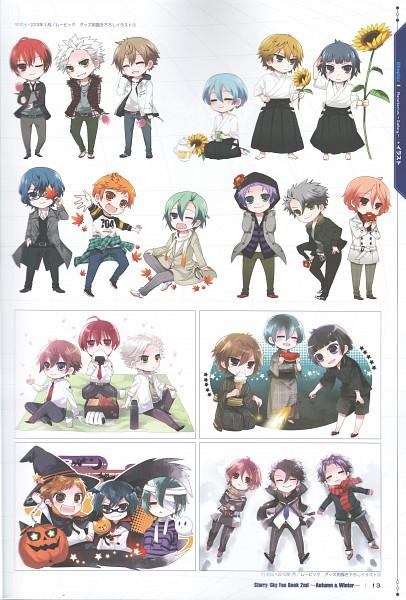 Tags: Anime, Starry☆Sky~, Kanakubo Homare, Tohzuki Suzuya, Iku Mizushima, Shiranui Kazuki, Haruki Naoshi, Tomoe Yoh, Kinose Azusa, Aozora Hayato, Miyaji Ryunosuke, Hoshizuki Kotarou, Nanami Kanata (Starry☆Sky)
