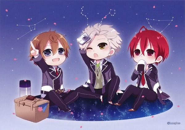 Tags: Anime, Starry☆Sky~, Tohzuki Suzuya, Tomoe Yoh, Nanami Kanata (Starry☆Sky), Starry☆Sky ~in Spring~