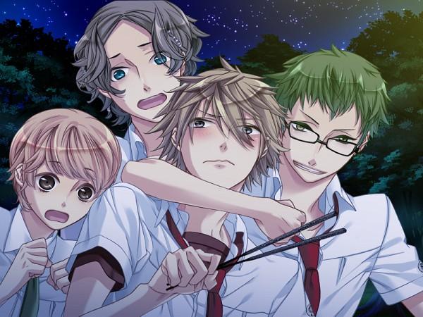 Tags: Anime, Starry☆Sky~, Inukai Takafumi, Miyaji Ryunosuke, Koguma Shinya, Shiratori Yahiko, CG Art, Starry☆Sky ~in Summer~, Idiot Trio (Starry☆Sky)