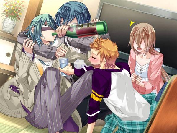 Tags: Anime, Starry☆Sky~, Iku Mizushima, Yahisa Tsukiko, Haruki Naoshi, Hoshizuki Kotarou, CG Art, Starry☆Sky ~in Autumn~