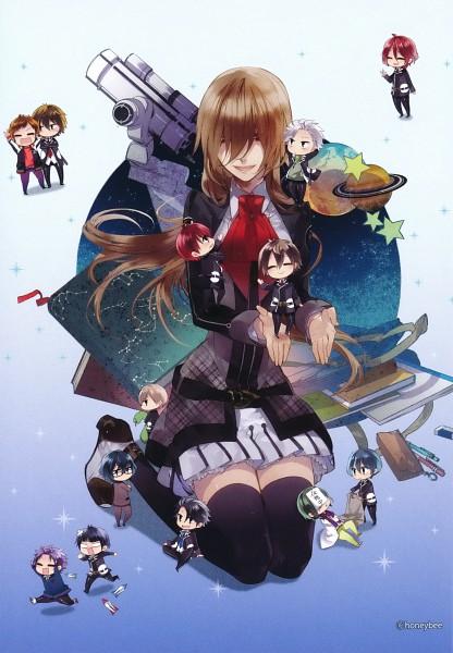 Tags: Anime, Kazuaki, Starry☆Sky~, Aozora Hayato, Miyaji Ryunosuke, Hoshizuki Kotarou, Shiranui Kazuki, Amaha Tsubasa, Kanakubo Homare, Yahisa Tsukiko, Nanami Kanata (Starry☆Sky), Tohzuki Suzuya, Iku Mizushima
