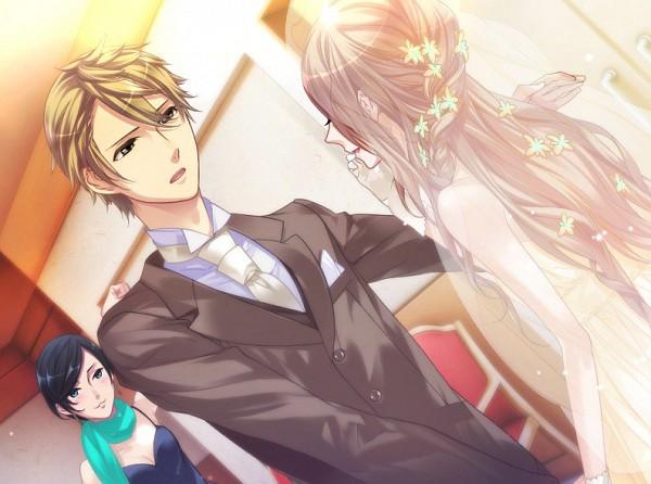 Tags: Anime, Starry☆Sky~, Yahisa Tsukiko, Miyaji Ryunosuke, CG Art, Starry☆Sky ~in Summer~