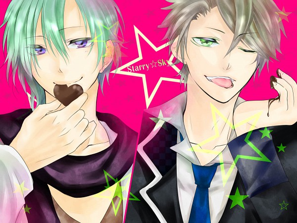 Tags: Anime, Starry☆Sky~, Shiranui Kazuki, Hoshizuki Kotarou, Starry☆Sky ~in Autumn~, Starry☆Sky ~in Winter~