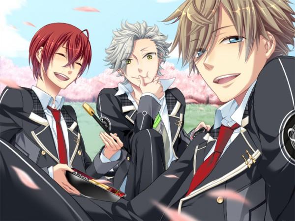 Tags: Anime, Starry☆Sky~, Tohzuki Suzuya, Tomoe Yoh, Nanami Kanata (Starry☆Sky), CG Art, Starry☆Sky ~in Spring~