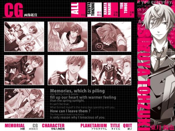 Tags: Anime, Starry☆Sky~, Yahisa Tsukiko, Tohzuki Suzuya, CG Art, Starry☆Sky ~in Spring~