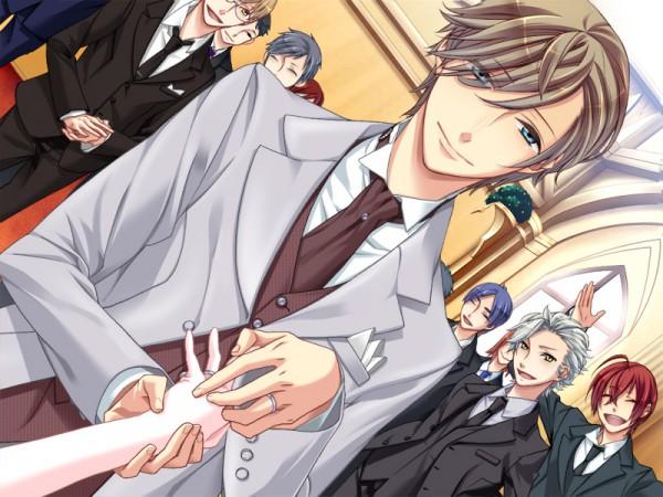 Tags: Anime, Kazuaki, Starry☆Sky~, Nanami Kanata (Starry☆Sky), Tohzuki Suzuya, Tomoe Yoh, CG Art, Starry☆Sky ~in Spring~