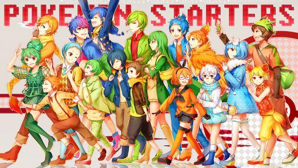 Tags: Anime, LuluSeason, Pokémon, Totodile, Oshawott, Squirtle, Treecko, Fennekin, Cyndaquil, Tepig, Piplup, Torchic, Chikorita