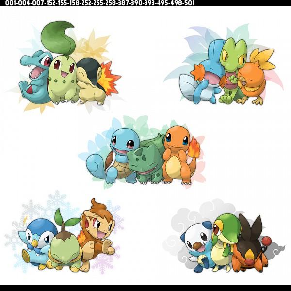 Tags: Anime, Ditb, Pokémon, Charmander, Bulbasaur, Mudkip, Chimchar, Totodile, Snivy, Squirtle, Treecko, Cyndaquil, Oshawott