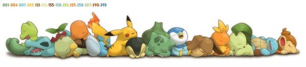 Tags: Anime, Ditb, Pokémon, Pikachu, Bulbasaur, Mudkip, Chimchar, Totodile, Squirtle, Treecko, Cyndaquil, Eevee, Torchic