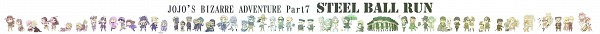Tags: Anime, Pixiv Id 2801362, JoJo no Kimyou na Bouken, Steel Ball Run, Magent Magent, Funny Valentine, Gyro Zeppeli, Wekapipo, Sugar Mountain, Blackmore, Johnny Joestar, Steven Steel, Hot Pants (Steel Ball Run)