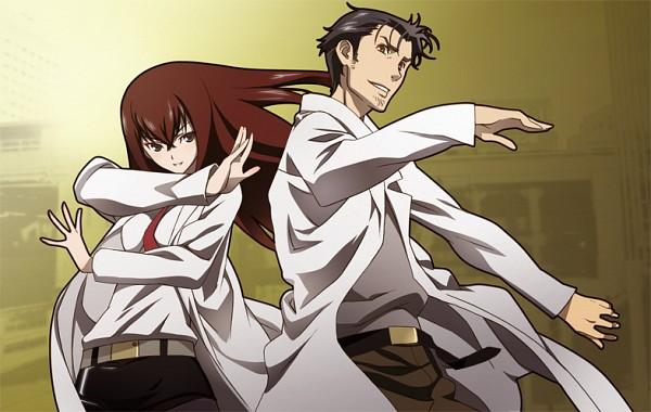 Tags: Anime, Steins;Gate, Okabe Rintarou, Makise Kurisu, Pixiv