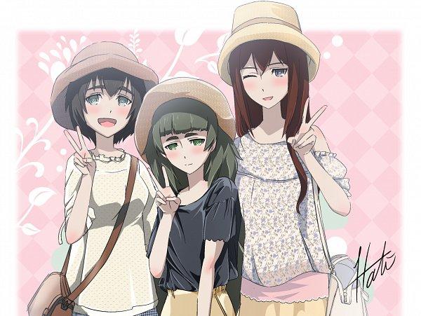 Tags: Anime, Pixiv Id 2041401, Steins;Gate, Hiyajo Maho, Shiina Mayuri, Makise Kurisu