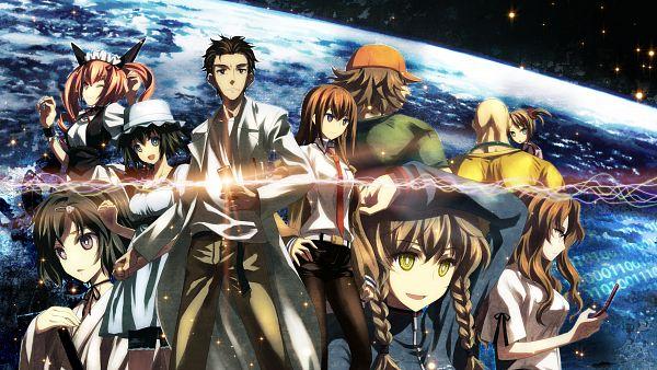 Tags: Anime, Yuuki Tatsuya, Studio S.D.T., Trashbox 21, Steins;Gate, Amane Suzuha, Hashida Itaru, Rumiho Akiha, Shiina Mayuri, Okabe Rintarou, Tennouji Yuugo, Kiryu Moeka, Makise Kurisu