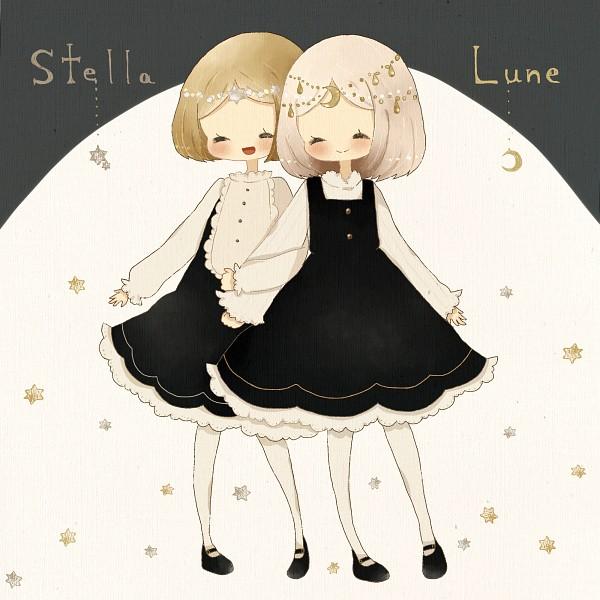 Tags: Anime, Ogakororomi, Stella & Lune, Pixiv