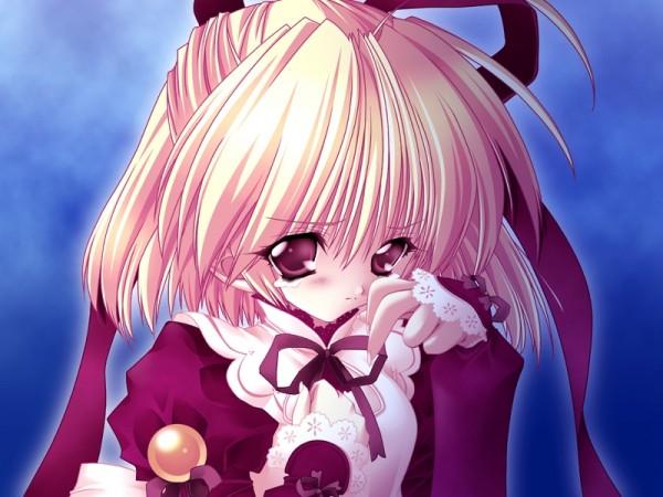Tags: Anime, Moldavite, Stella Arista, Wiping Tears, Wiping Face, CG Art