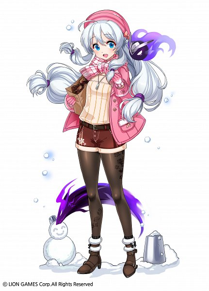 Tags: Anime, Pixiv Id 17648188, Soul Worker, Stella Unibell, Pink Handwear, Pink Gloves, Official Art