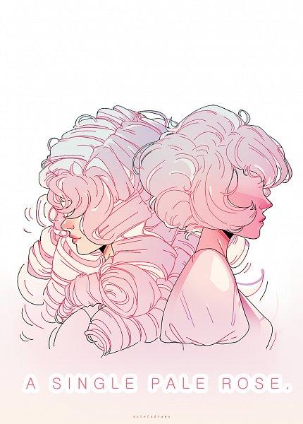 Tags: Anime, Pixiv Id 7659894, Steven Universe, Rose Quartz, Pink Diamond (Steven Universe)