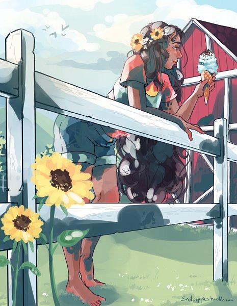 Tags: Anime, Snotpuppies, Steven Universe, Stevonnie, Barn