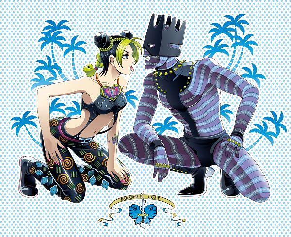 Tags: Anime, Pixiv Id 5407054, Stone Ocean, JoJo no Kimyou na Bouken, Kuujou Jolyne, Whitesnake (Stand), Fanart, Fanart From Pixiv, Pixiv