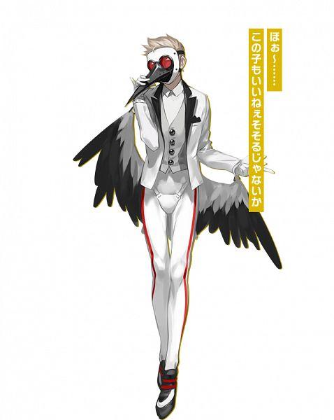 Tags: Anime, OGch, Historia (Studio), Caligula: Overdose, Caligula, Stork (Caligula), Official Art