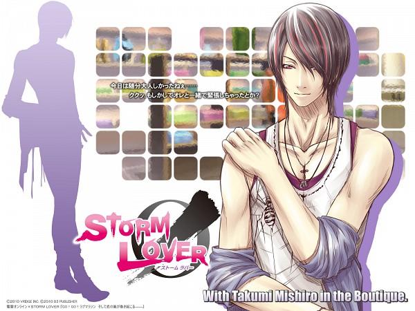 Tags: Anime, D3 PUBLISHER, Storm Lover, Mishiro Takumi