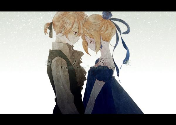 Tags: Anime, Nami / ナミ, VOCALOID, Kagamine Rin, Kagamine Len, Akuno-p, Story of Evil, Kagamine Mirrors