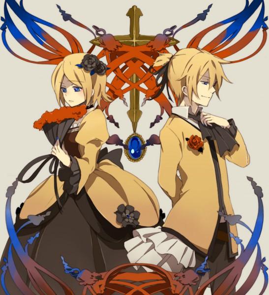 Tags: Anime, Loo, VOCALOID, Kagamine Len, Kagamine Rin, Story of Evil, Akuno-p, Kagamine Mirrors