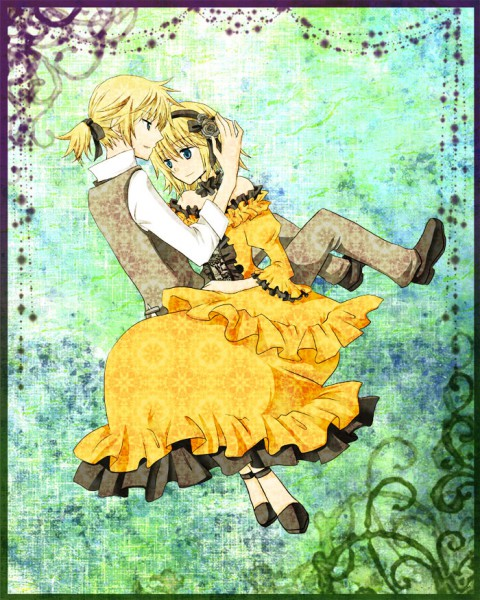 Tags: Anime, Pixiv Id 606903, VOCALOID, Kagamine Rin, Kagamine Len, Akuno-p, Story of Evil, Kagamine Mirrors