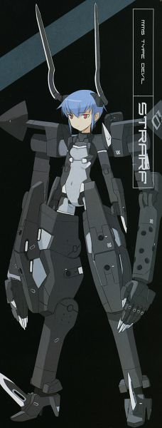Tags: Anime, Shimada Humikane, KONAMI (Studio), Busou Shinki, Strarf, Scan, Official Art