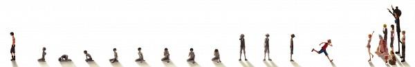 Tags: Anime, ONE PIECE, Tony Tony Chopper, Franky, Monkey D. Luffy, Sanji, Usopp, Nami (ONE PIECE), Portgas D. Ace, Roronoa Zoro, Brook, Nico Robin, Age Progression