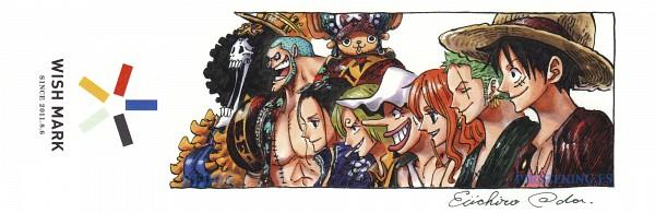 Tags: Anime, Oda Eiichirou, ONE PIECE, Monkey D. Luffy, Sanji, Usopp, Nami (ONE PIECE), Brook, Roronoa Zoro, Nico Robin, Tony Tony Chopper, Franky, Twitter Header
