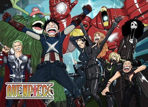 Tags: Anime, ONE PIECE, Roronoa Zoro, Brook, Nico Robin, Tony Tony Chopper, Franky, Monkey D. Luffy, Sanji, Usopp, Nami (ONE PIECE), Loki (Cosplay), Thor Odinson (Cosplay)