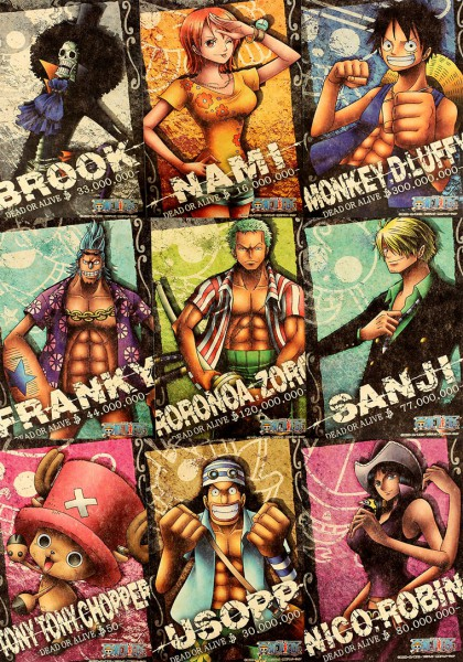 Tags: Anime, ONE PIECE, Sanji, Usopp, Nami (ONE PIECE), Roronoa Zoro, Brook, Nico Robin, Tony Tony Chopper, Franky, Monkey D. Luffy, Official Art, Straw Hat Pirates