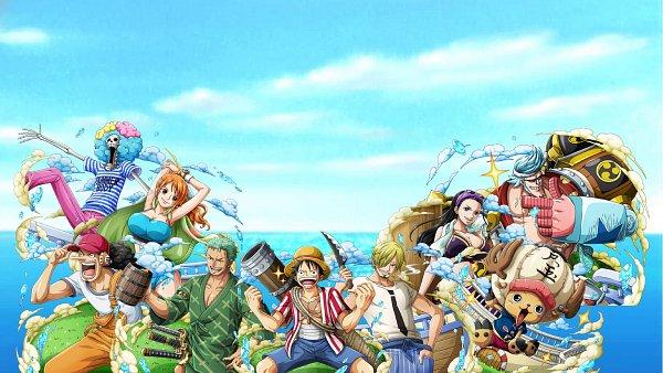 Tags: Anime, ONE PIECE, ONE PIECE STAMPEDE, Usopp, Nami (ONE PIECE), Roronoa Zoro, Brook, Nico Robin, Tony Tony Chopper, Franky, Monkey D. Luffy, Sanji, Game (Source)