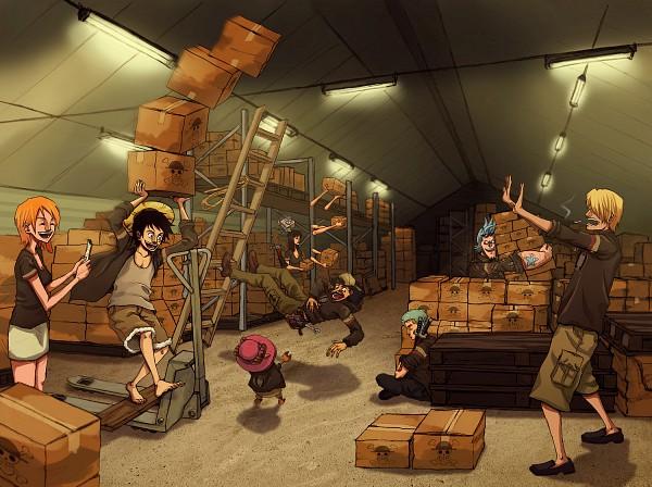 Tags: Anime, ONE PIECE, Sanji, Usopp, Nami (ONE PIECE), Roronoa Zoro, Nico Robin, Tony Tony Chopper, Franky, Monkey D. Luffy, Artist Request, The Eleven Supernovas, Straw Hat Pirates