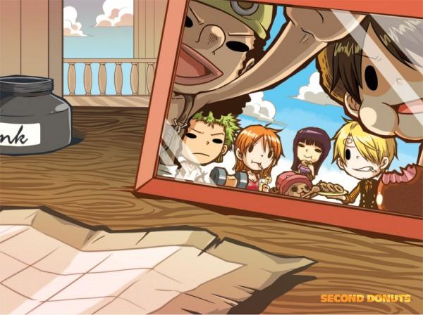 Tags: Anime, Ramga, ONE PIECE, Tony Tony Chopper, Sanji, Monkey D. Luffy, Nami (ONE PIECE), Usopp, Roronoa Zoro, Nico Robin, The Eleven Supernovas, Straw Hat Pirates