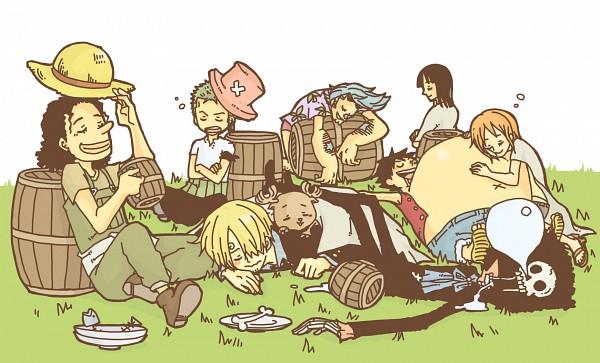 Tags: Anime, Pixiv Id 41466, ONE PIECE, Brook, Sanji, Usopp, Nami (ONE PIECE), Roronoa Zoro, Nico Robin, Franky, The Eleven Supernovas, Straw Hat Pirates