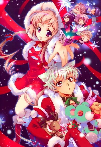 Tags: Anime, Shouoto Aya, Stray Love Hearts, Kito Ninomiya, Ichikawa Ren, Minemitsu Yamashina, Miki Uegaito, Hiyoki Kozue, Hijiri Asukai, Kuga Reizei, Mobile Wallpaper, Official Art