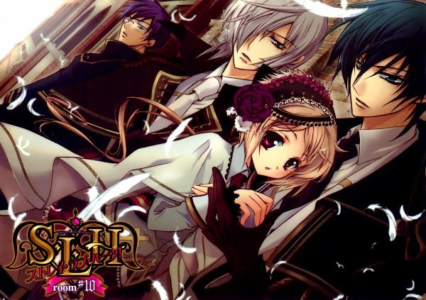 Tags: Anime, Shouoto Aya, Stray Love Hearts, Cain Kumoide, Shizuka Uryu, Minemitsu Yamashina, Hiyoki Kozue