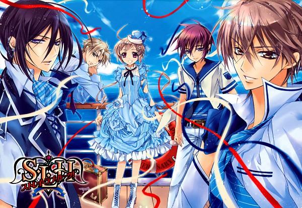 Tags: Anime, Shouoto Aya, Stray Love Hearts, Minemitsu Yamashina, Hiyoki Kozue, Kuga Reizei, Hijiri Asukai, Ichikawa Ren, Kito Ninomiya