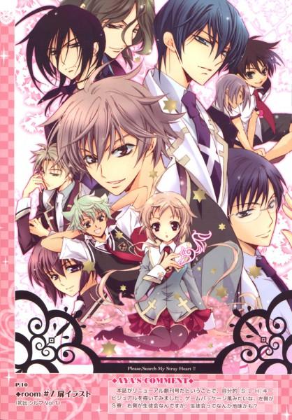 Tags: Anime, Shouoto Aya, Stray Love Hearts, Ichikawa Ren, Nouth Kousetsu, Miki Uegaito, Hiyoki Kozue, Hijiri Asukai, Kuga Reizei, Kito Ninomiya, Cain Kumoide, Hidaka Ayuma, Minemitsu Yamashina