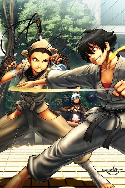 Tags: Anime, Street Fighter, Makoto (Street Fighter), Ibuki (Street Fighter), Elena (Street Fighter)