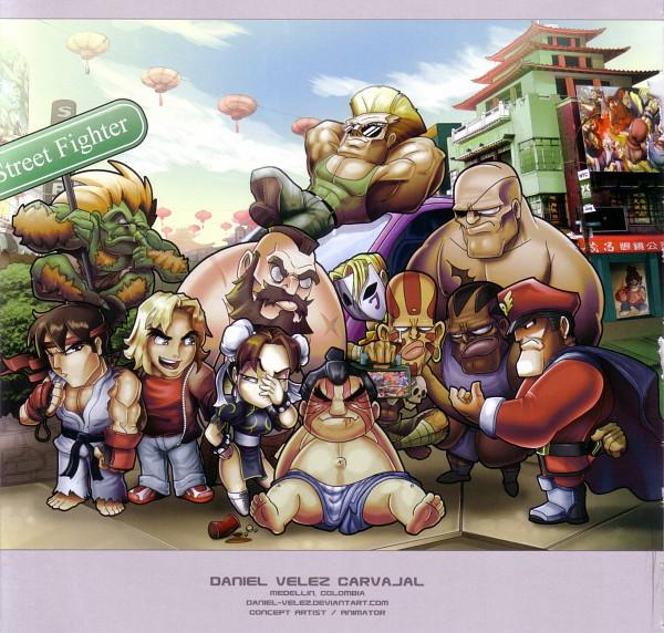 Tags: Anime, Street Fighter, Guile, Zangief, Ken Masters, Chun-Li, Blanka, E. Honda, Vega, Ryuu (Street Fighter), M. Bison, Balrog (Street Fighter)