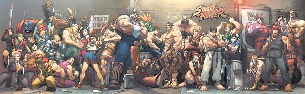 Tags: Anime, Alvin Lee, Arnold Tsang, Rival Schools, Final Fight, Street Fighter, Kurosaki Karin, Balrog (Street Fighter), Rainbow Mika, Charlie Nash, T. Hawk, Chun-Li, Rolento F. Schugerg