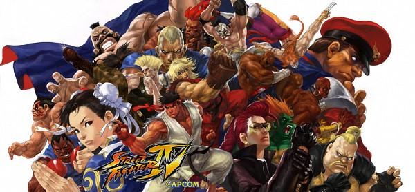 Tags: Anime, Capcom, Trinity Blood, Street Fighter, Chun-Li, Dhalsim, Vega, M. Bison, Sagat, Gouki, Guile, Ken Masters, Balrog (Street Fighter)