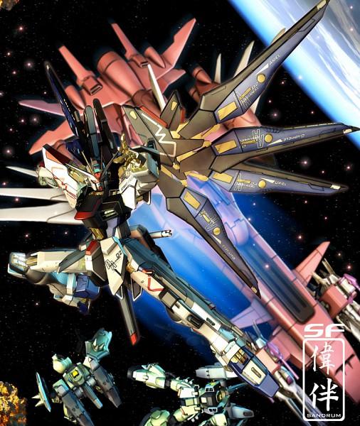 Tags: Anime, Mobile Suit Gundam SEED Destiny, Strike Freedom Gundam, Gundams