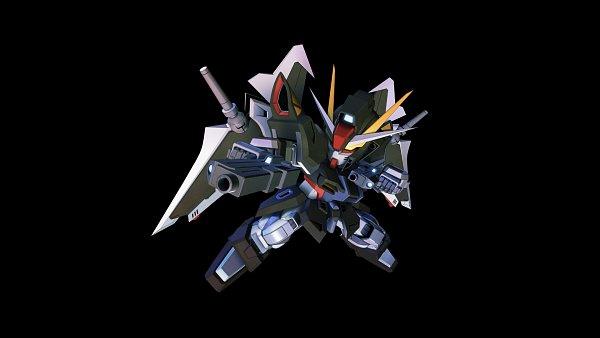 Tags: Anime, Bandai Namco Entertainment, SD Gundam G Generation, Mobile Suit Gundam Seed C.e. 73: Stargazer, Strike Noir, Wallpaper, Gundams
