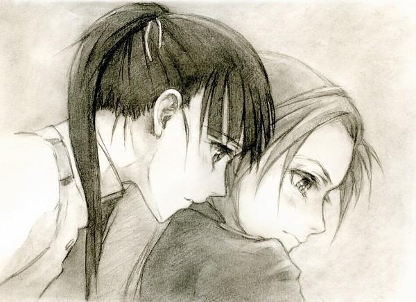 Tags: Anime, Kisetsu, Strike Witches, Minna-Dietlinde Wilcke, Sakamoto Mio, Sketch