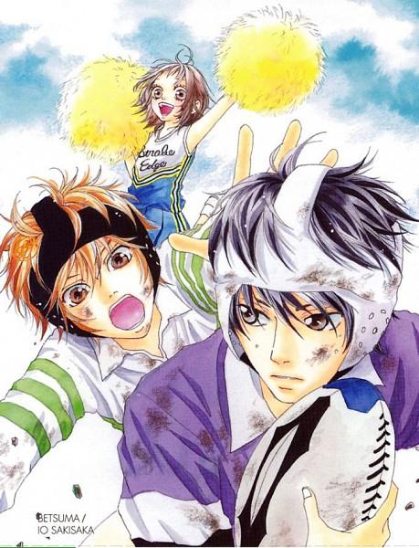 Tags: Anime, Sakisaka Io, Strobe Edge, Ichinose Ren, Andou Takumi, Kinoshita Ninako